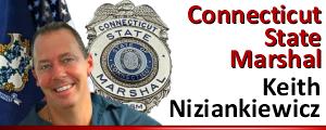 Connecticut State Marshal, Keith Niziankiewicz